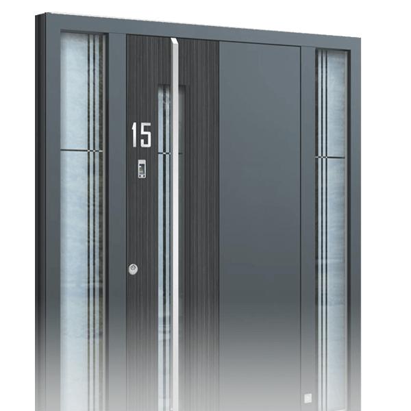hliníkové vstupní dveře Exclusive 3D