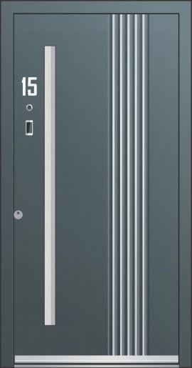 Hliníkové vchodové dveře řady AA typ 231