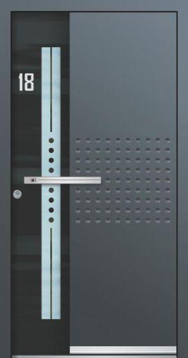 Hliníkové vchodové dveře řady AA typ 247E