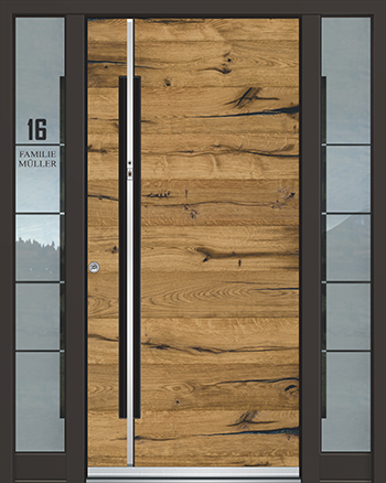 Hliníkové vchodové dveře řady AGE typ 1030