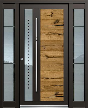 Hliníkové vchodové dveře řady ASS typ 1700