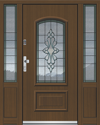 Hliníkové vchodové dveře řady ATE typ 1265
