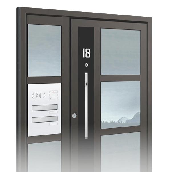 hliníkové vstupní dveře Select